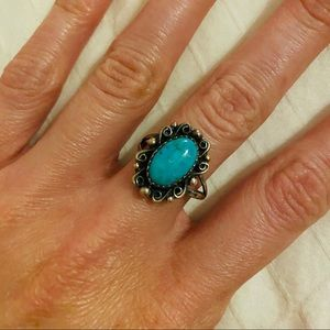 💙 Vintage Turquoise Ring 💙